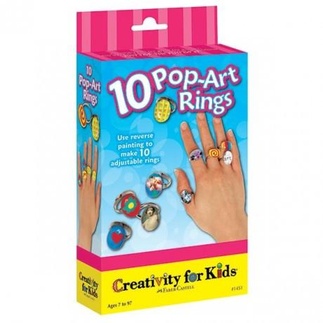 Anelli art ringts creativity for kids faber-castell
