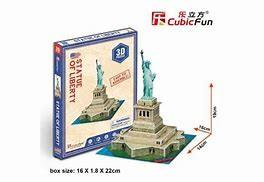 3d puzzle monumenti s statue of liberty