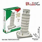 3d puzzle monumenti c leaning tower of pisa 27pz