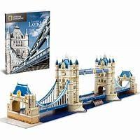 3d puzzle national geographic london tower bridge 120pz
