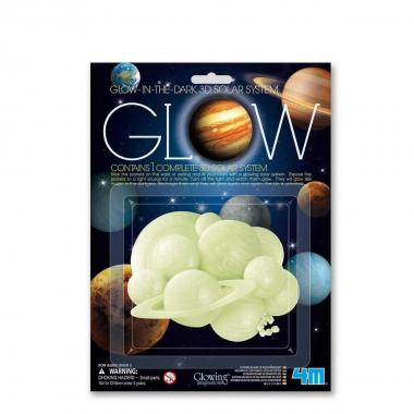 Sistema solare 3d glow in the dark