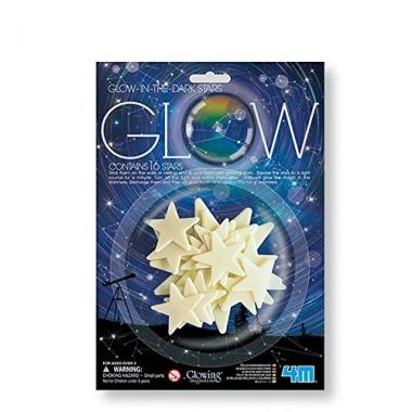 Stelle glow in the dark