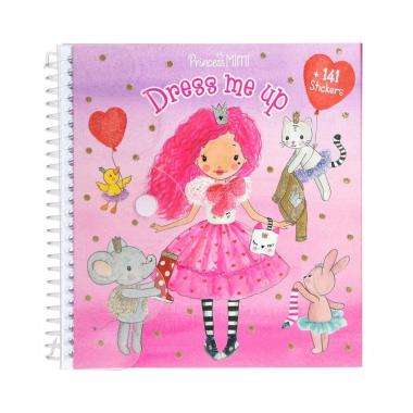 Album stickers dress me up princess mini