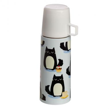 Thermos 350 ml  gatto- feline fine