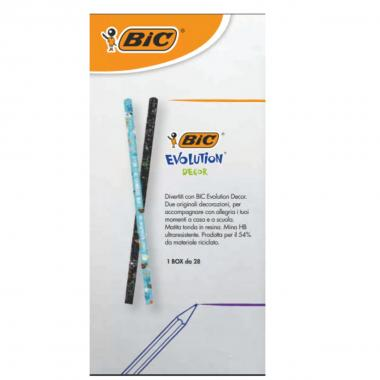 Matita bic evolution decor
