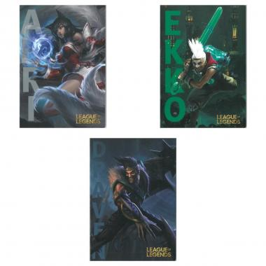 League of legends maxi quaderno 100gr.